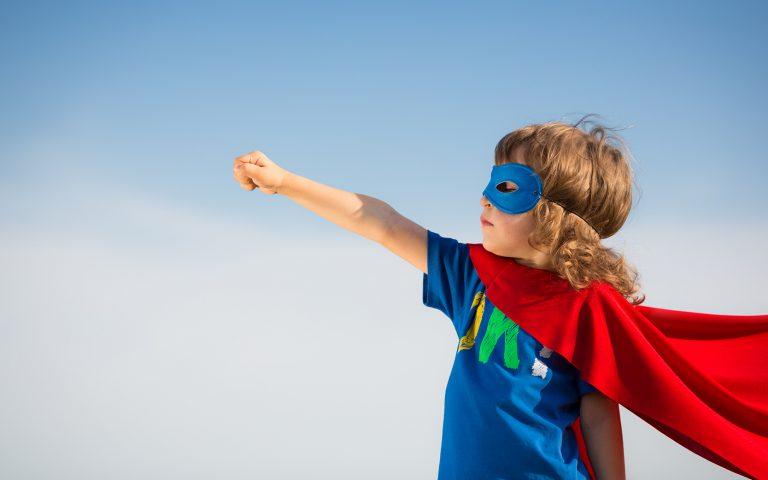 A Superhero Child
